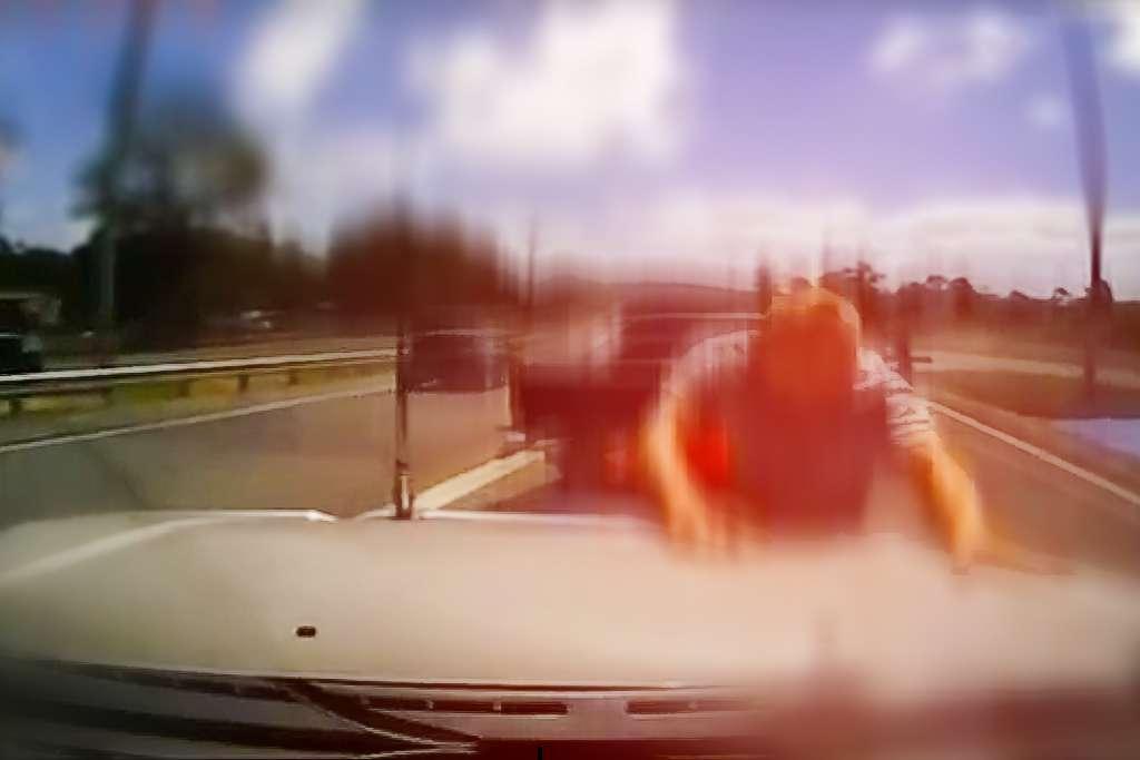 Furia en la carretera
